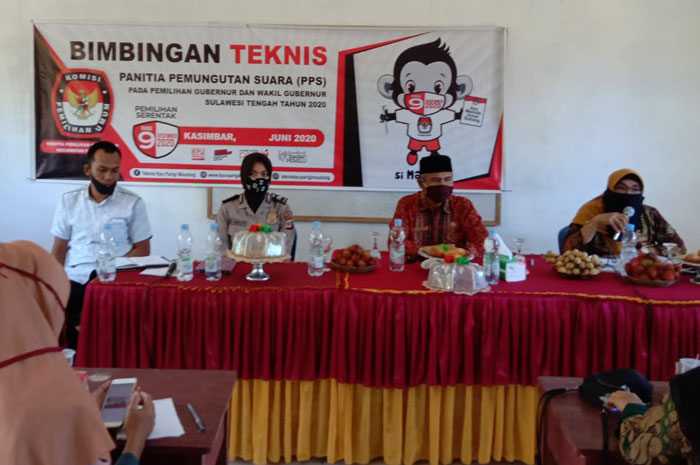 KPU Parimo Bimtek PPS di Kecamatan Kasimbar