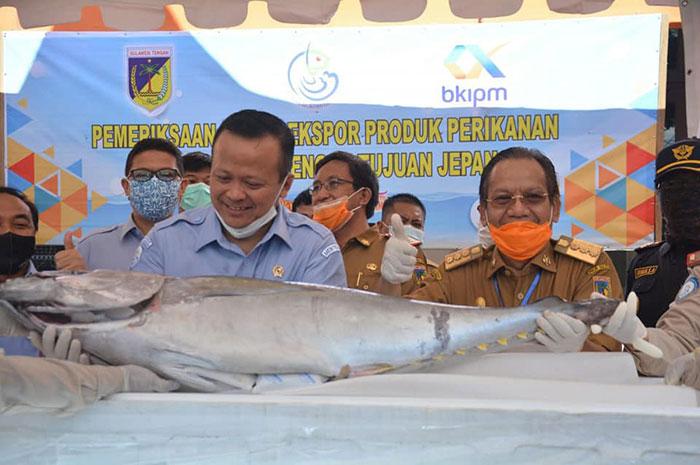 Menteri Kelautan dan Perikanan Resmikan Ekspor Perdana Yellowfin Tuna Sulteng Ke Jepang