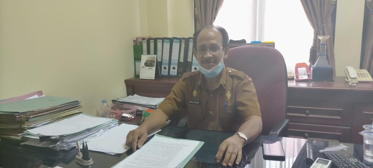 Kepala Bagian Kesramas, H. Haris Rahim, S.Pd, M.Si