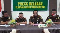 Kejari Tetapkan Wakil Ketua II DPRD Parimo Jadi Tersangka