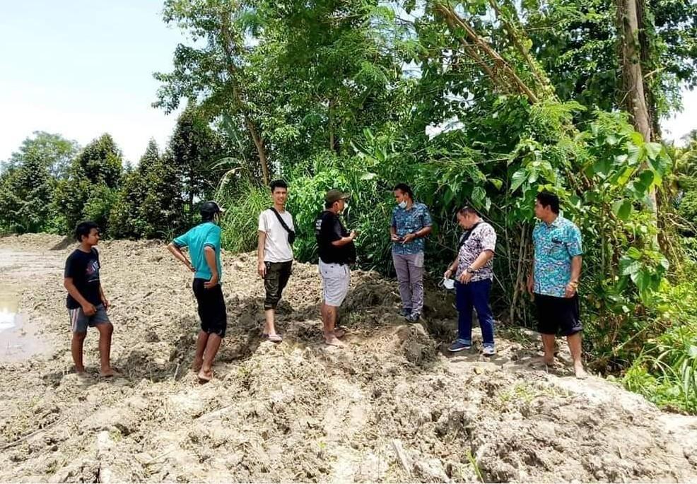 Tinjau Lokasi Banjir di Torue dan Balinggi